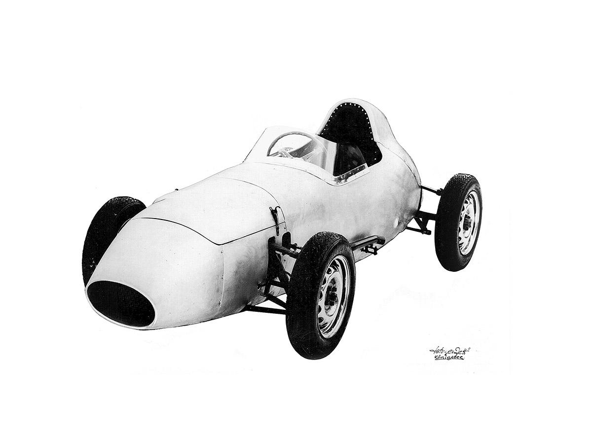 Hartmann - Projekt Formel Junior | Totale Formel-Junior-Wagen