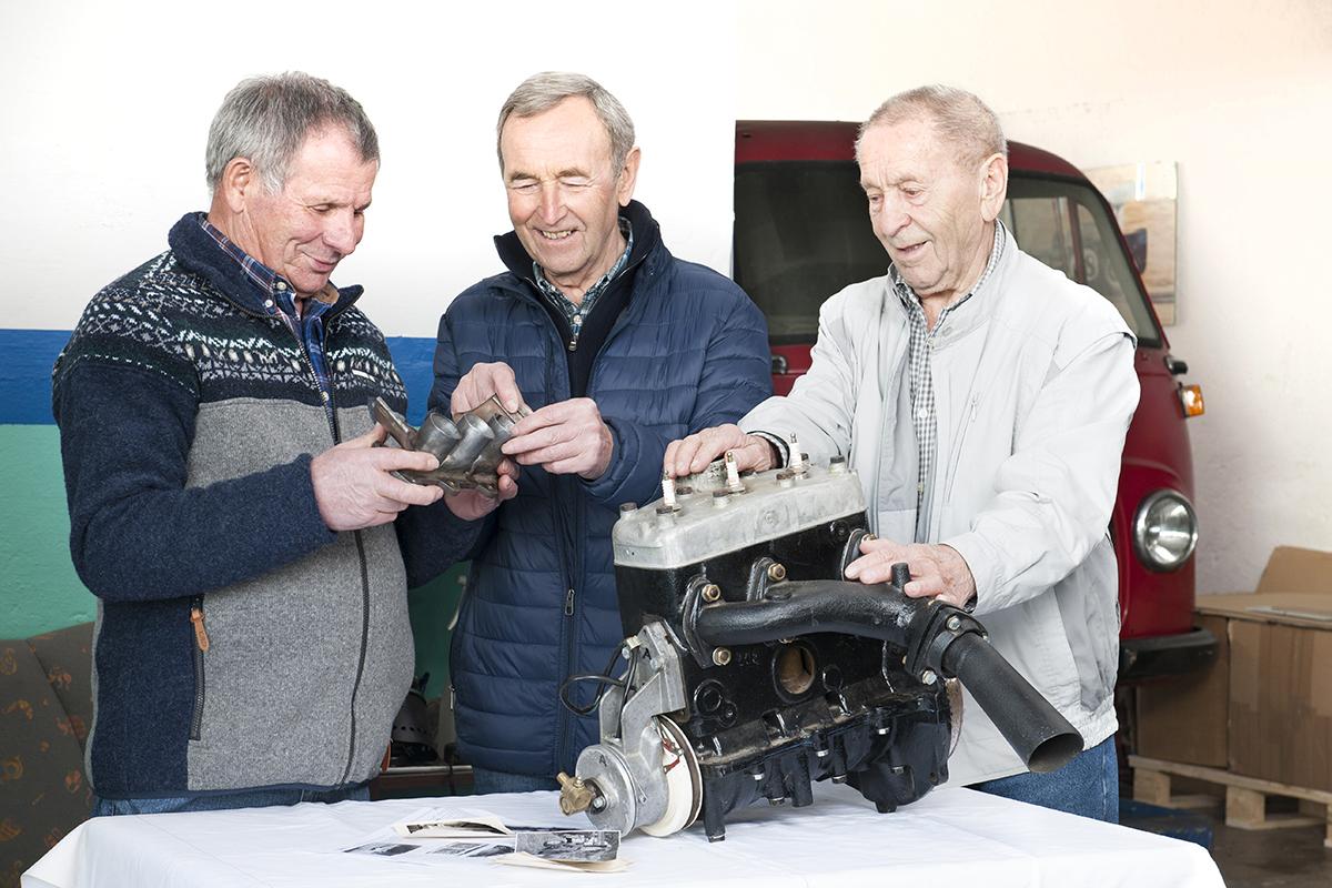 Scuderia Hartmann-Hartmann DKW Formel Junior Motor